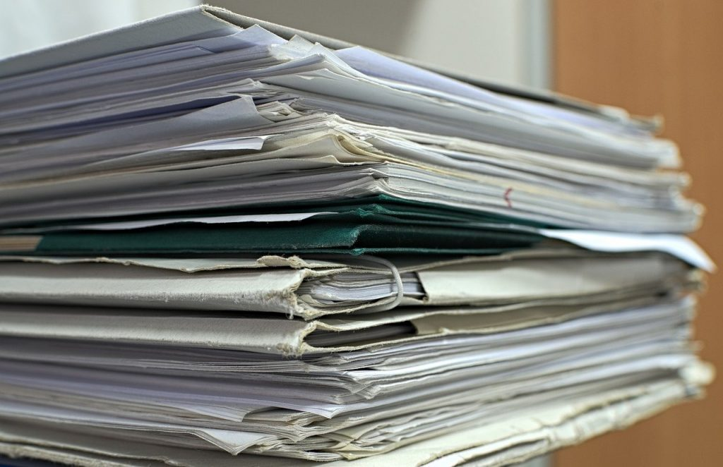 papers, projects, documents